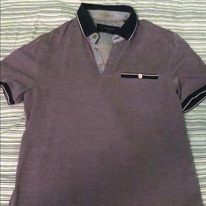 Ted Baker men's size 3 polo shirt